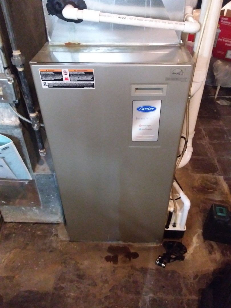 Chicago, IL - Maintaining a carrier furnace