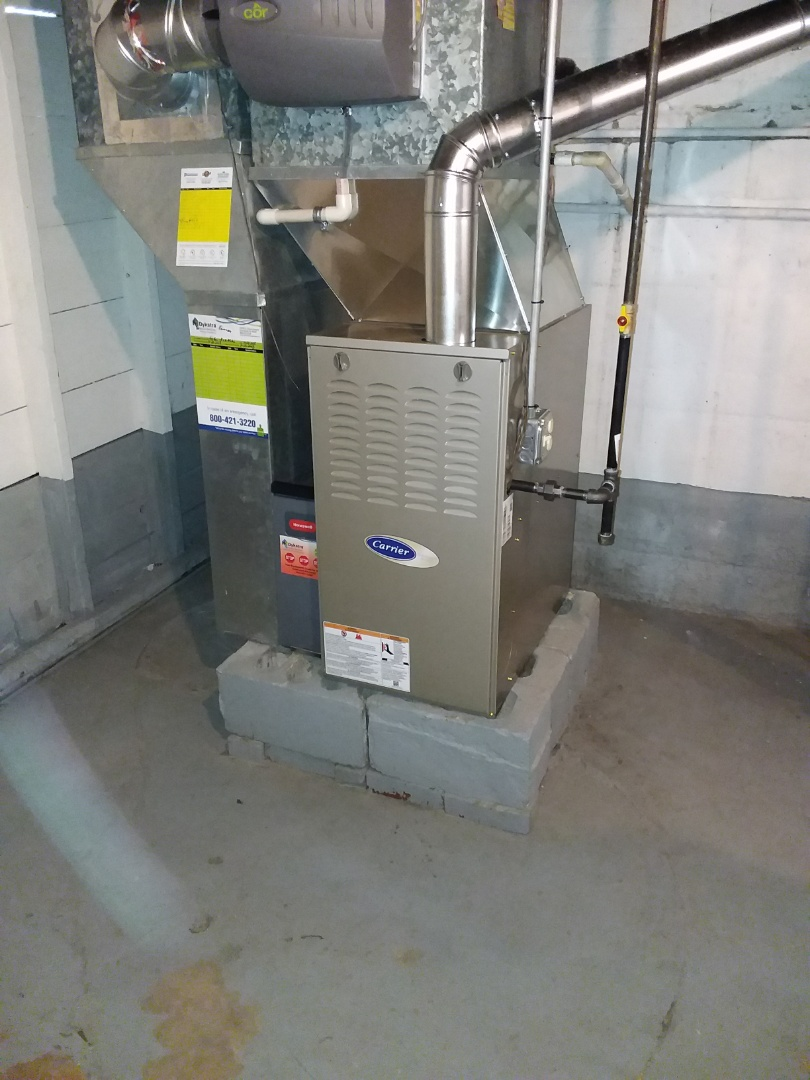 Chicago, IL - Carrier furnace installation