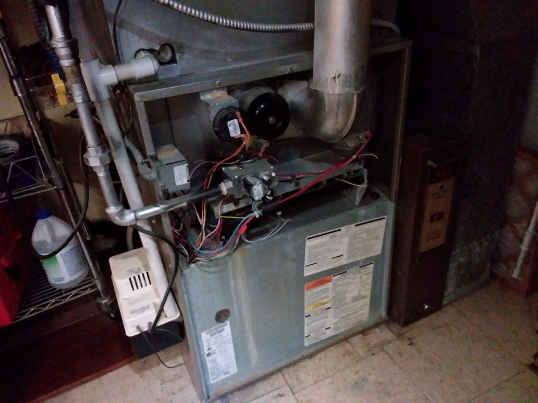 Wilmette, IL - Clean and checked furnace