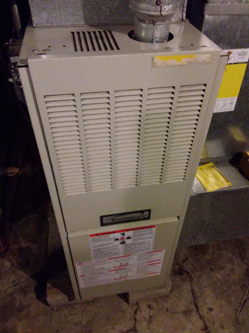 Glen Ellyn, IL - Maintaining a Kenmore furnace