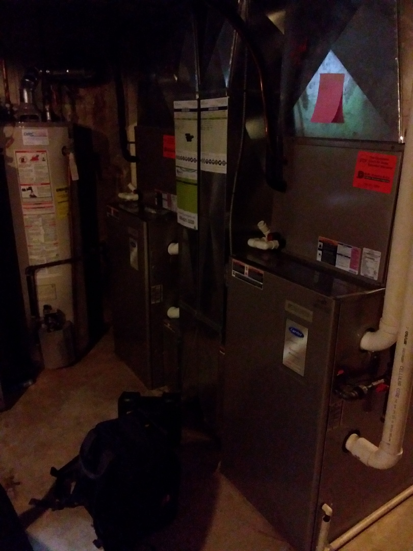 Palos Park, IL - Maintaining two carrier furnaces