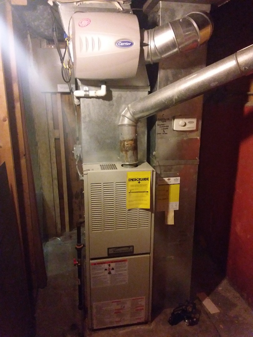 Chicago, IL - Maintaining a Kenmore furnace in a carrier humidifier