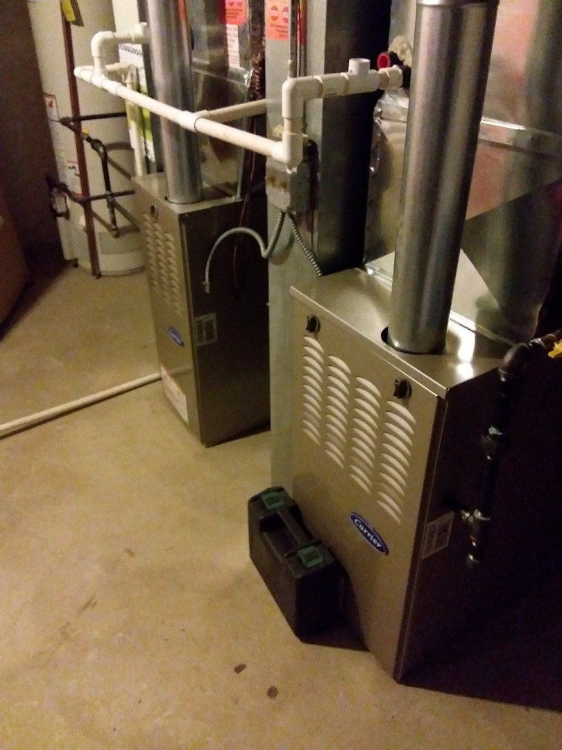 Midlothian, IL - Maintaining two carrier furnaces