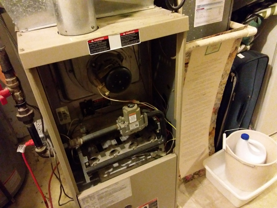 Hoffman Estates, IL - Clean and checked furnace