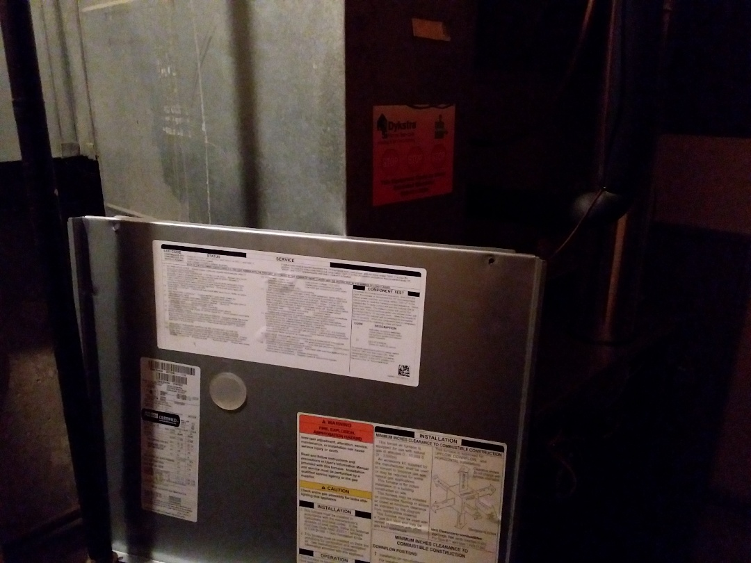 Elgin, IL - Clean and checked furnace