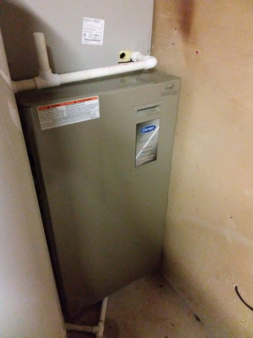 Midlothian, IL - Repairing a carrier furnace