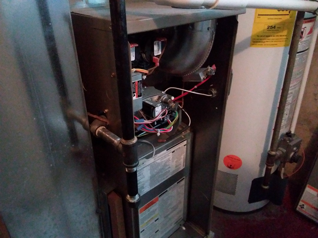 Bellwood, IL - Clean and checked furnace