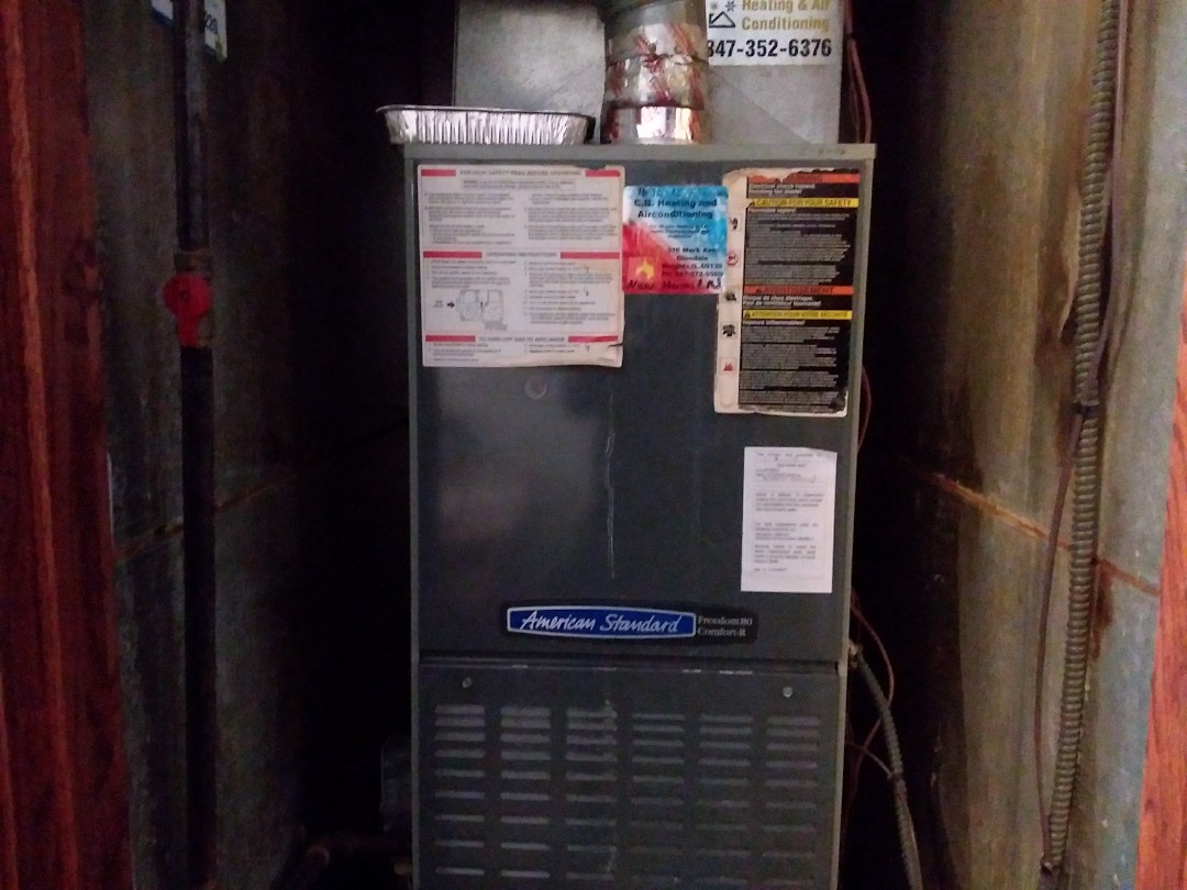 Elk Grove Village, IL - Clean and checked furnace and humidifier