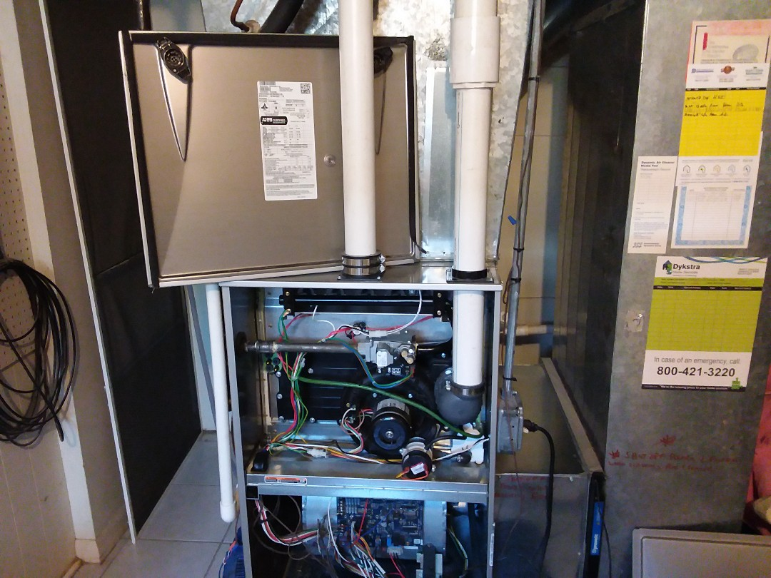 Skokie, IL - Clean and checked furnace and humidifier