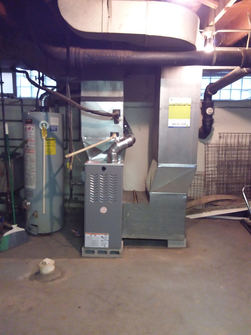 Riverdale, IL - Payne furnace replacement