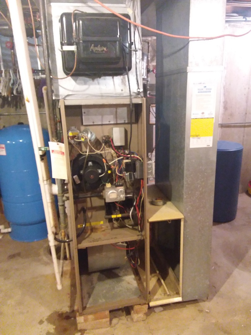 Naperville, IL - Installing new furnace carrier