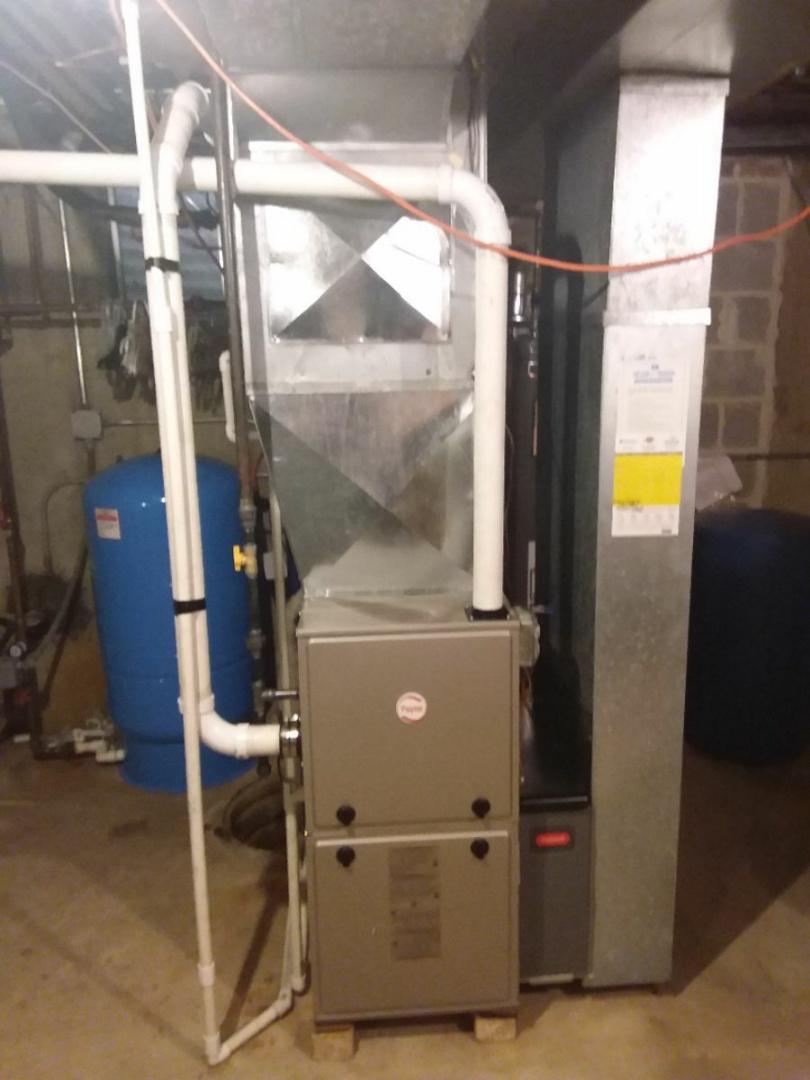 Naperville, IL - Install new Payne furnace