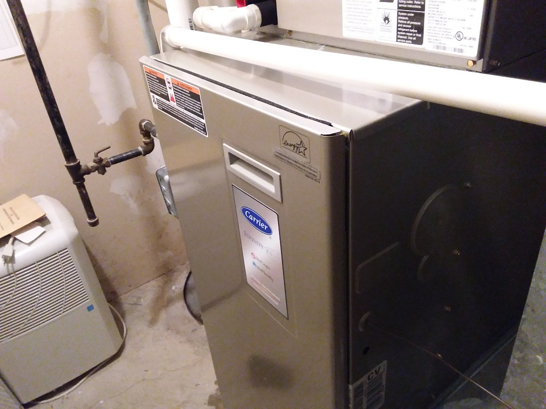 Schaumburg, IL - Clean and checked  2 furnaces and 2 humidifiers