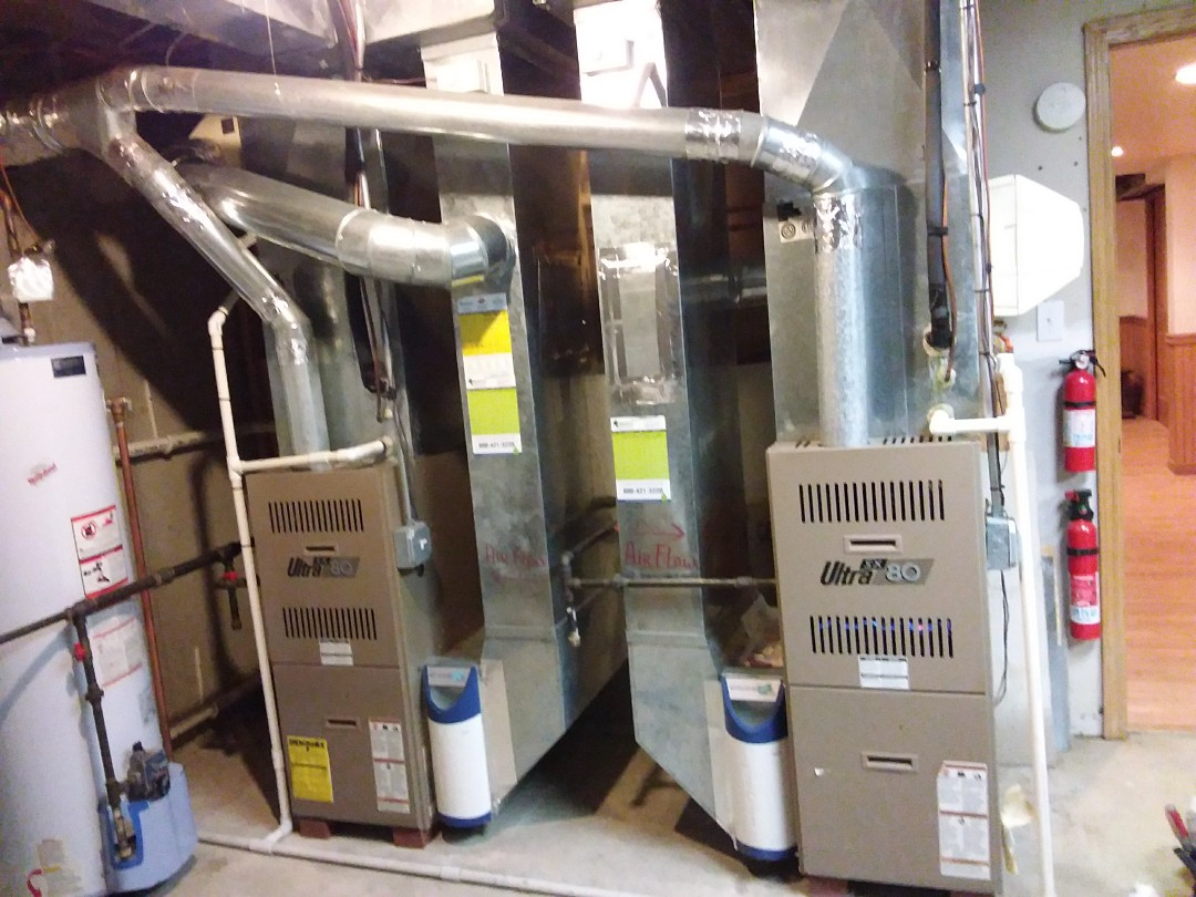 Niles, IL - Clean and checked  2 furnaces and 2 humidifiers