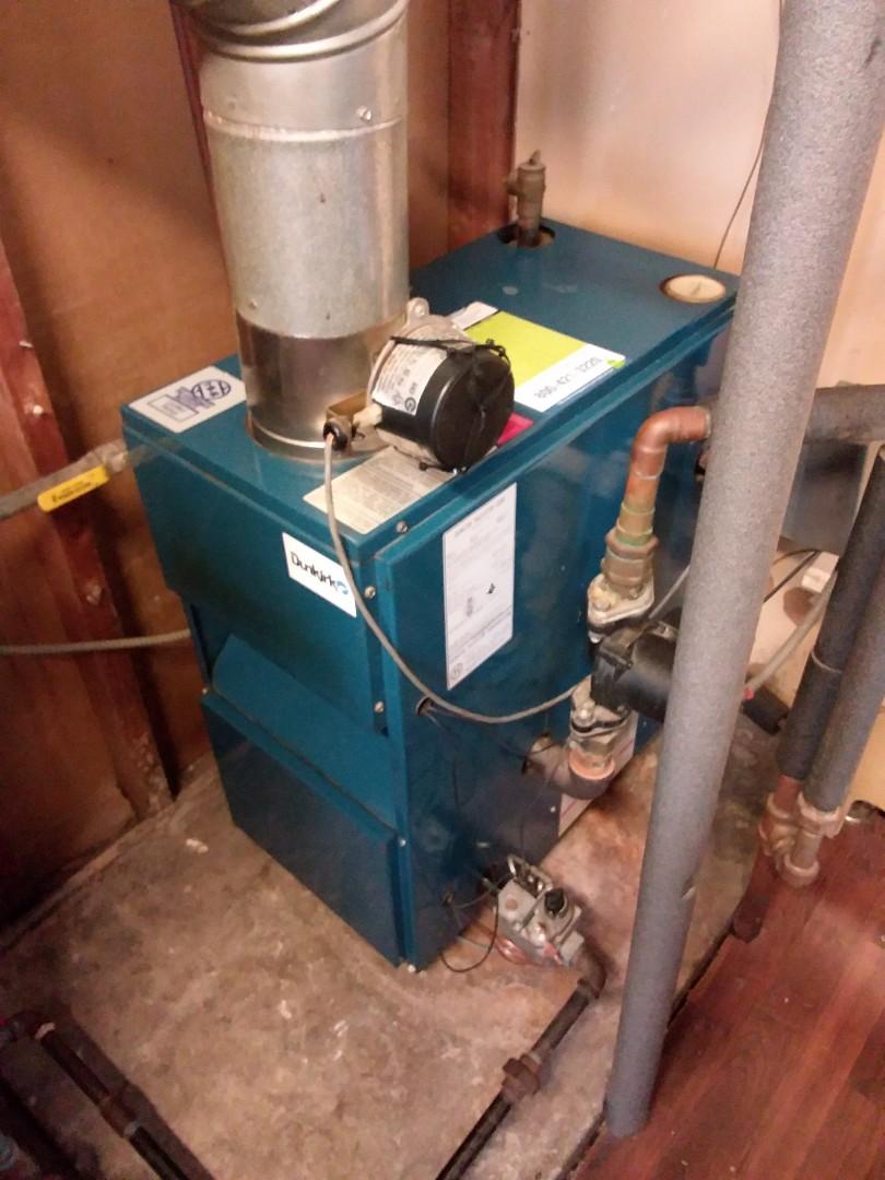 Oak Lawn, IL - Maintaining a Dunkirk boiler