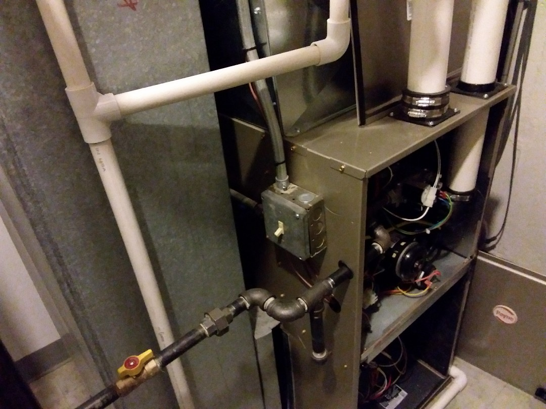 Streamwood, IL - Clean and checked furnace and humidifier