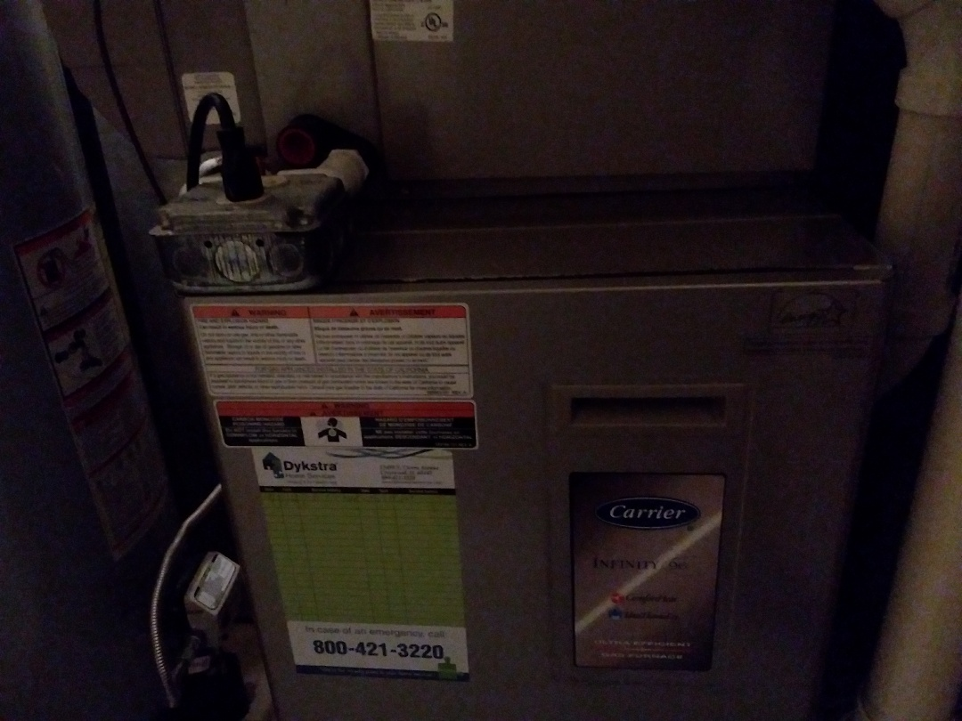 Elk Grove Village, IL - Clean and checked furnace