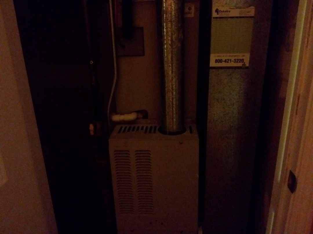 Schaumburg, IL - Clean and checked furnace