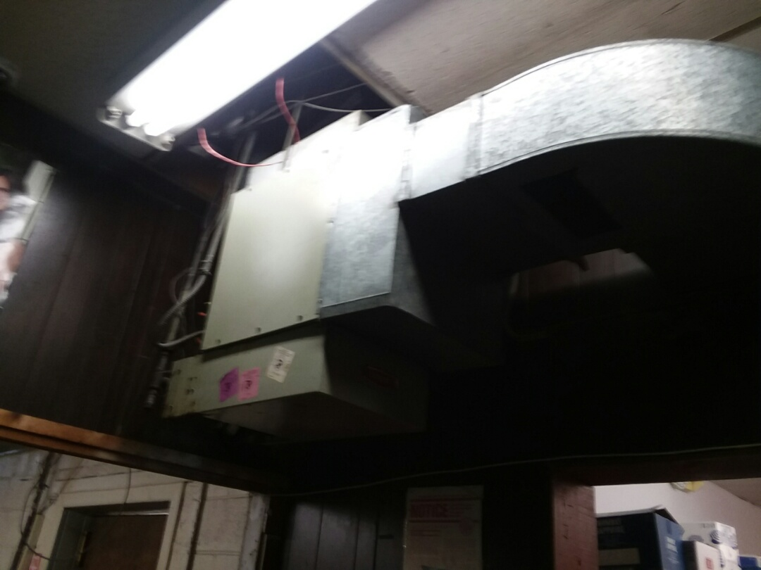 Replacing a unit heater