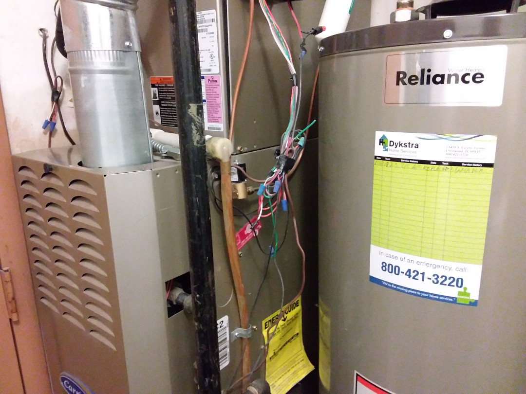 Arlington Heights, IL - Clean and checked furnace