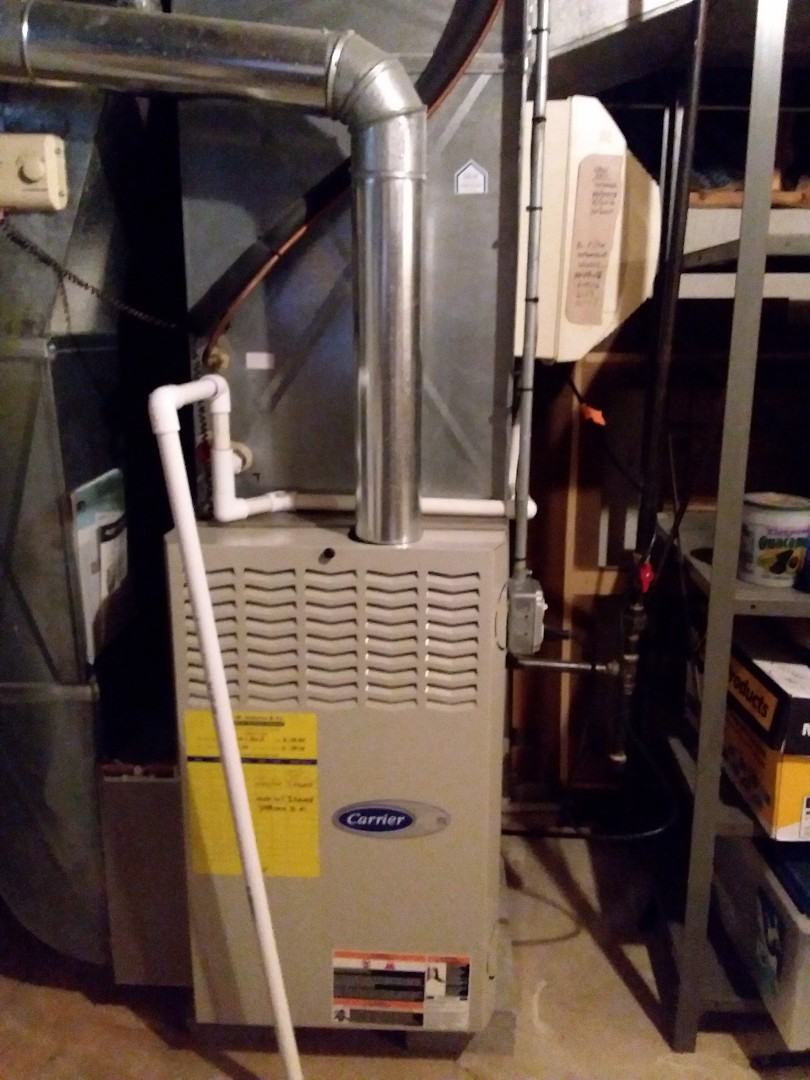 Orland Park, IL - Carrier furnace replacement