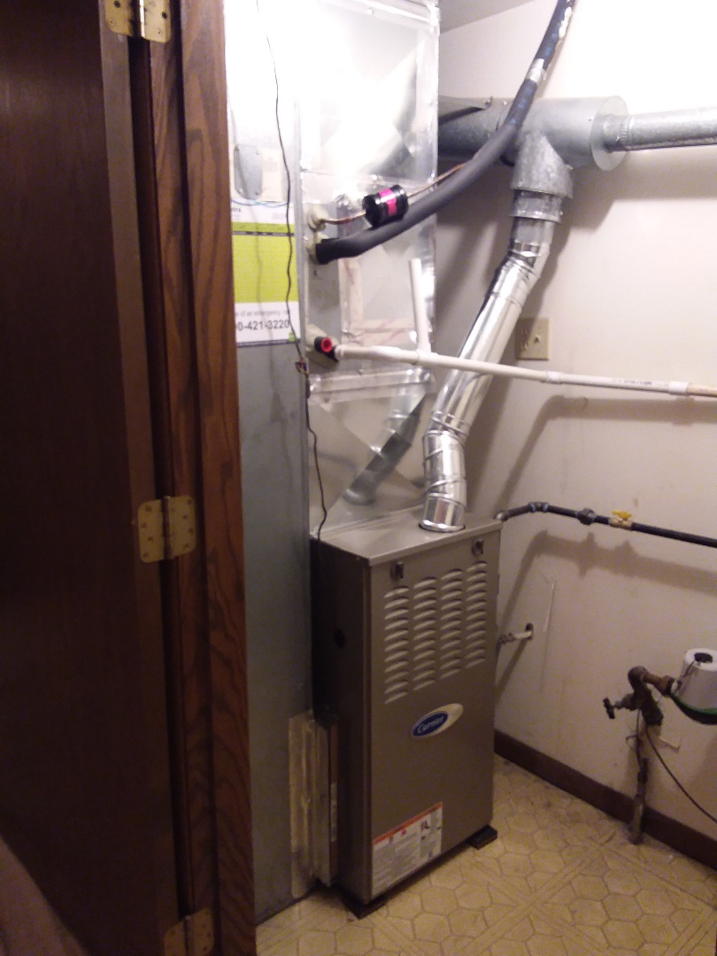 Tinley Park, IL - Carrier furnace replacement