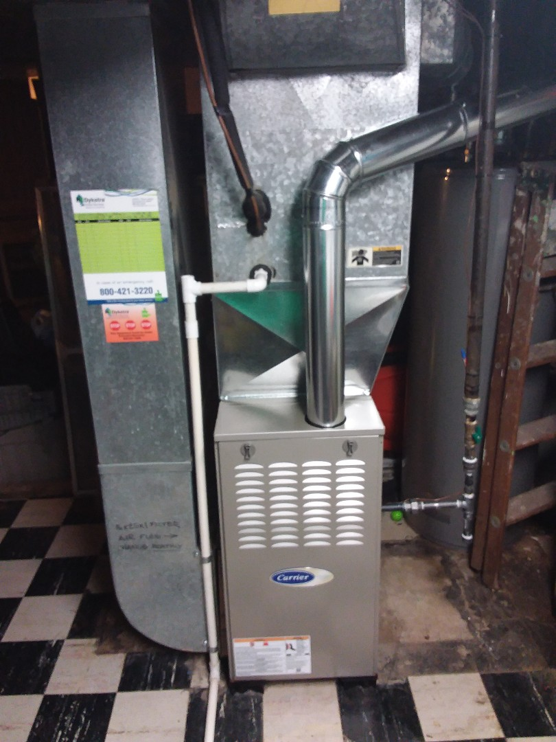 Oak Lawn, IL - Carrier furnace replacement