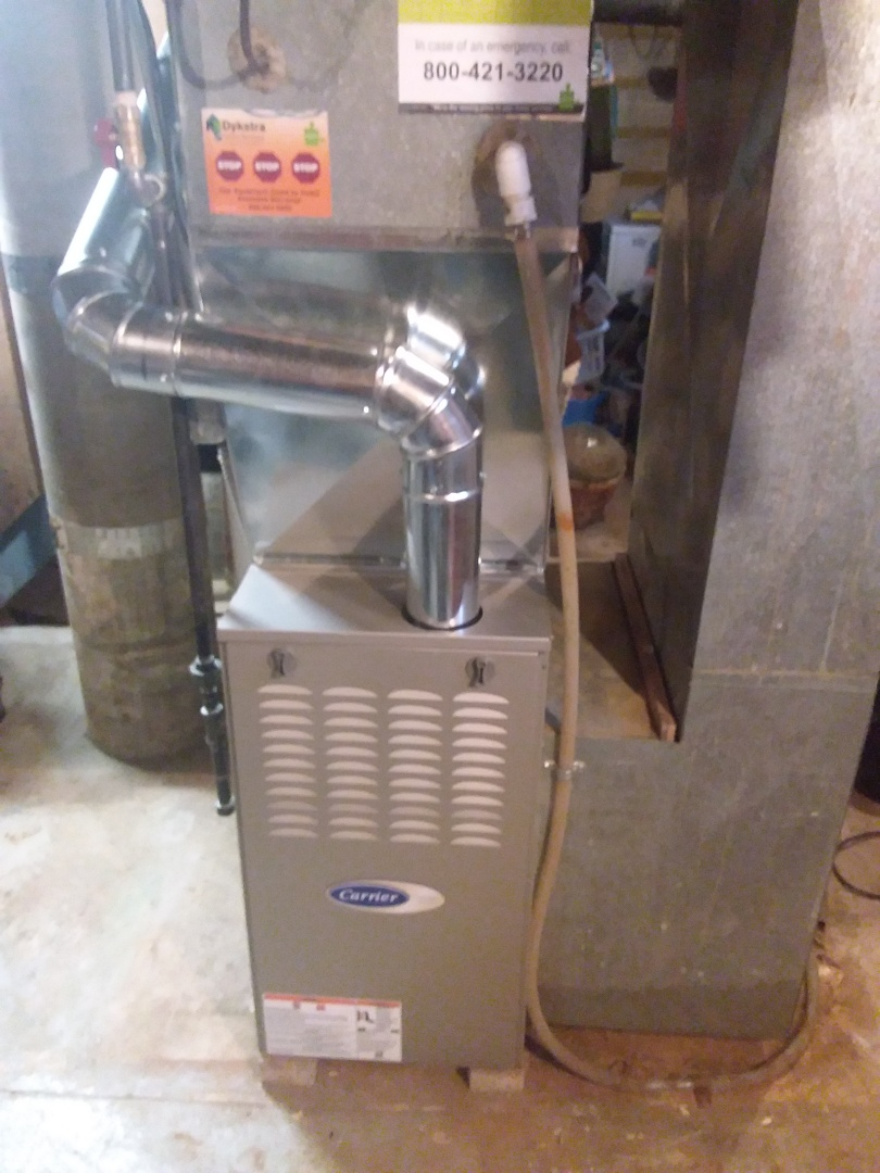 Steger, IL - Carrier furnace replacement