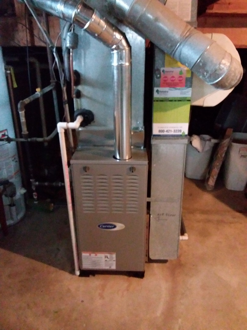 Glenwood, IL - Carrier Furnace replacement