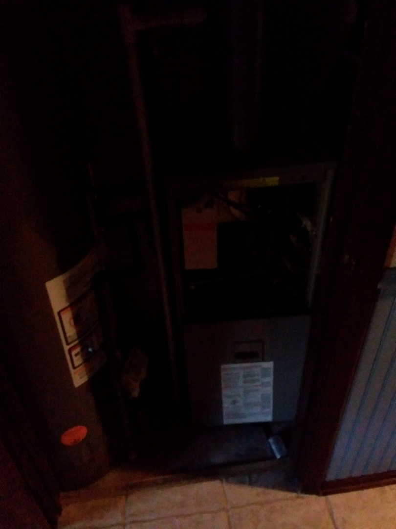 Oak Forest, IL - Installation of new carrier furnace replacing old janitrol furnace