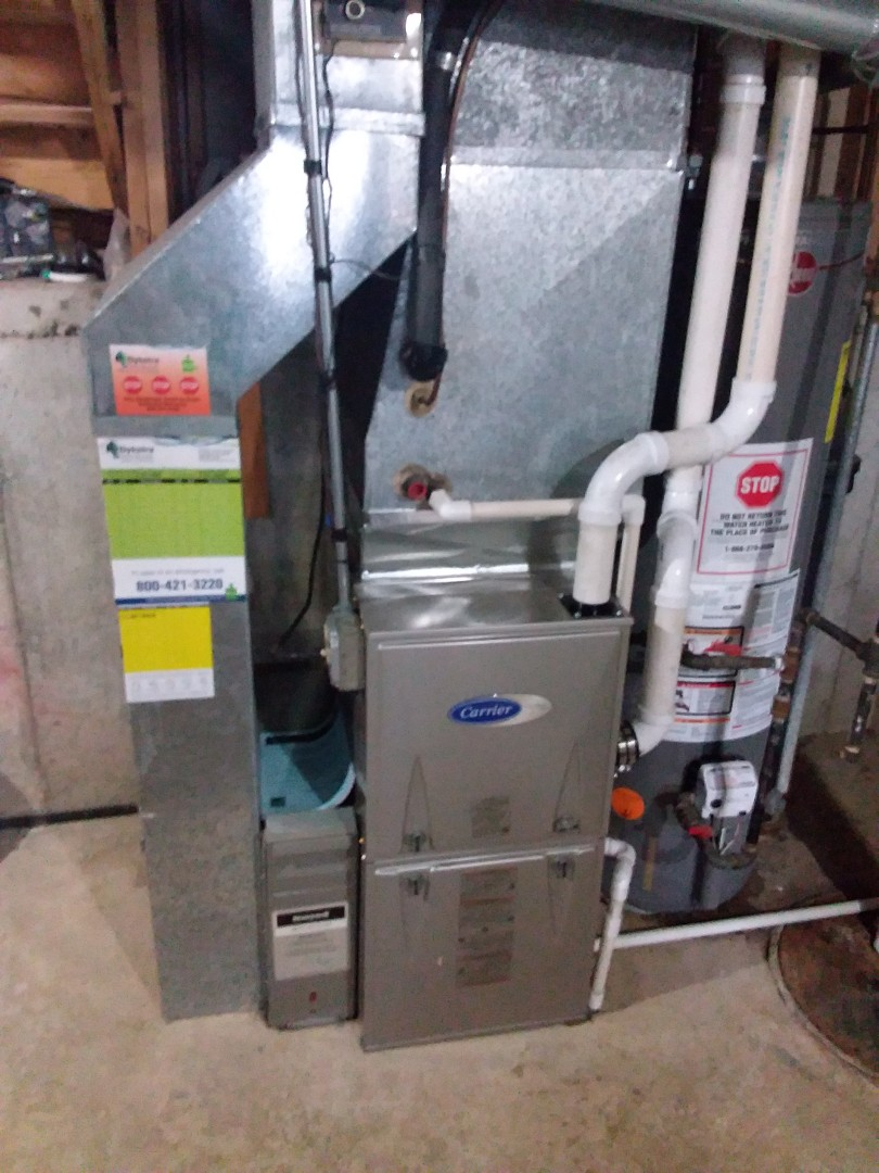 Country Club Hills, IL - Carrier high efficiency furnace replacement