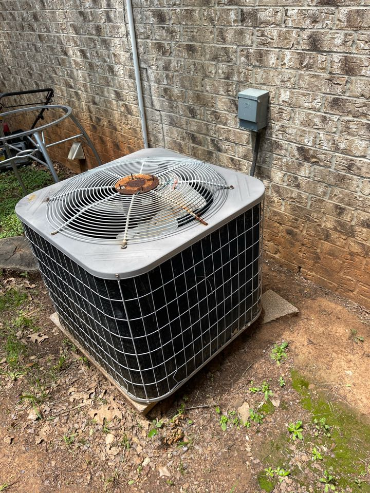 Denton, TX - Installing new heat pump and air conditioning system tomorrow!