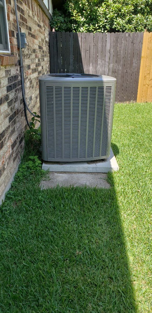 Hurst, TX - Serviced system by clearing closet drains.