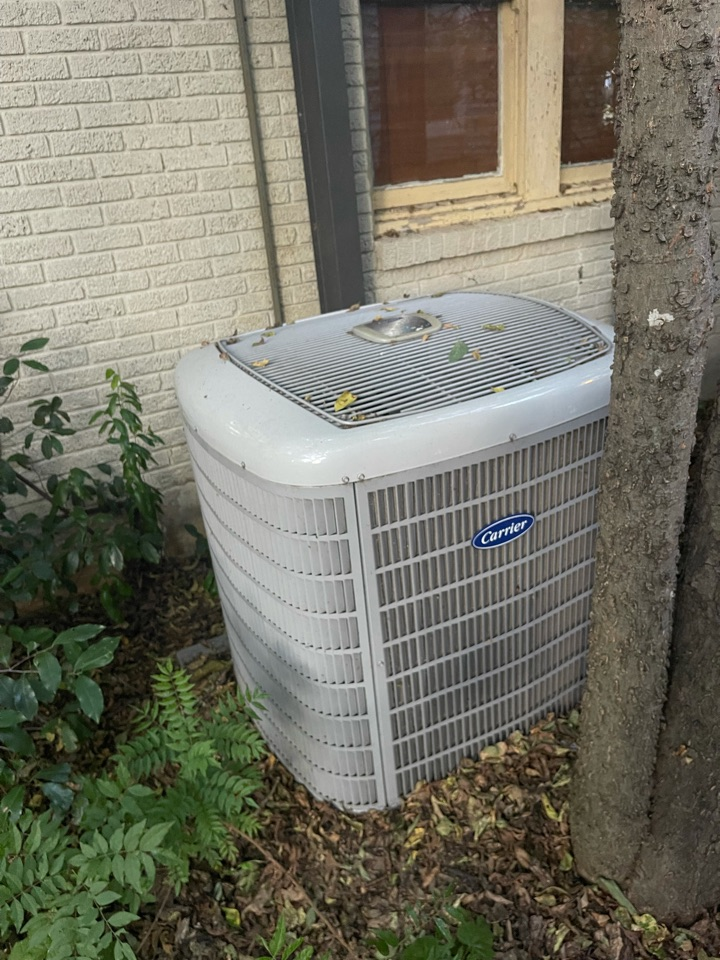 Fort Worth, TX - Performed diagnostic and second opinion for customer in Fort Worth, Texas on Carrier Infinity air conditioning system that has a failed compressor