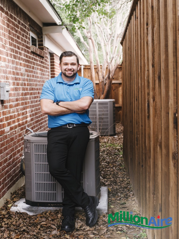 Repaired Goodman air conditioning system in Dallas, Texas