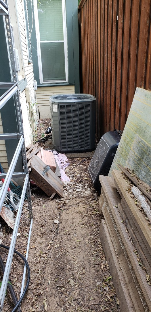 Repaired 7 year old Trane 3 ton condenser.