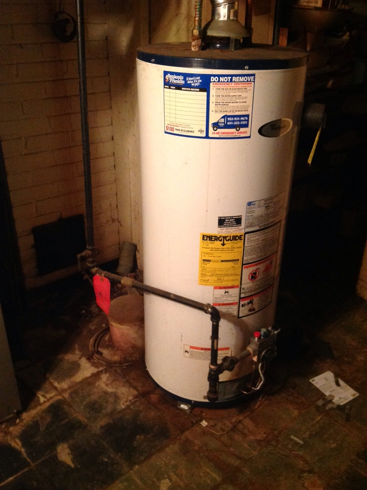 Minneapolis, MN - Est on water heater