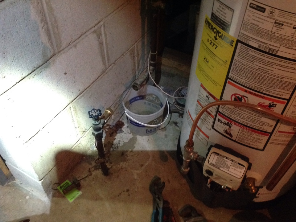 Minneapolis, MN - Replacing main shut off valve
