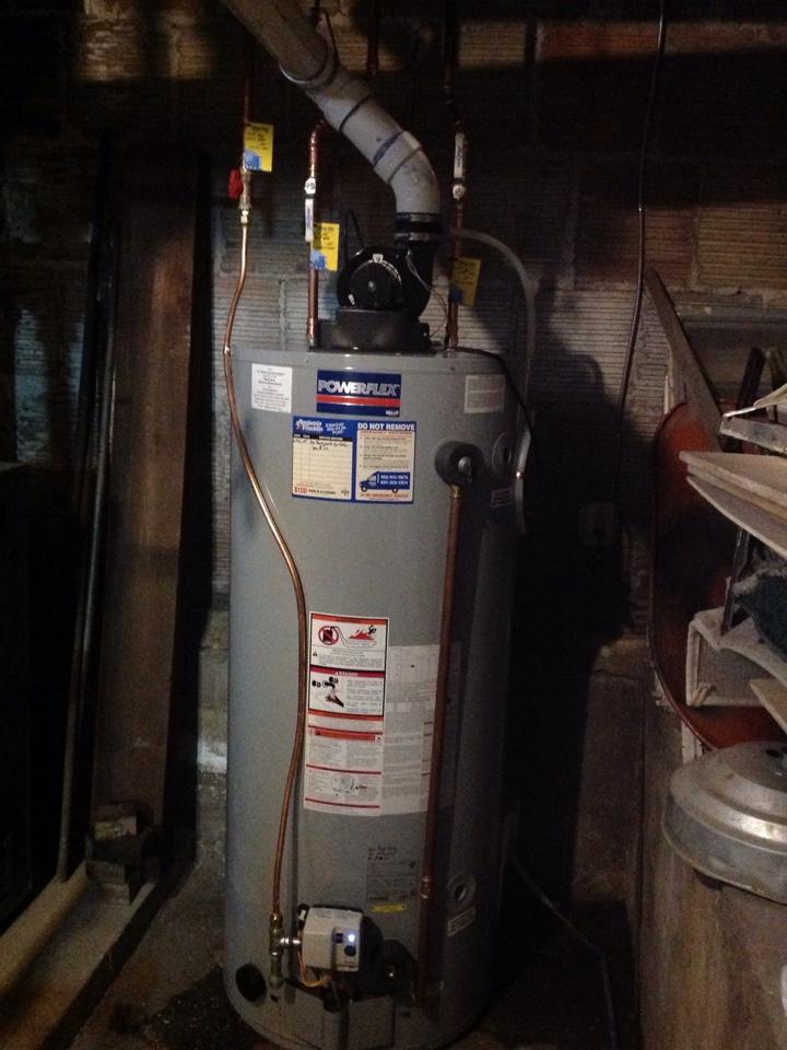 Minneapolis, MN - Installed new 75 gallon water heater