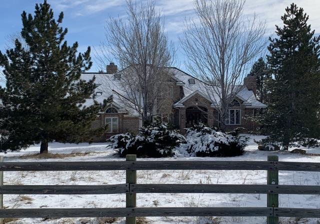Boulder, CO - This roof in the north part of Boulder, almost Niwot, is about how roofing has been going this past week or two - lots of snow.  We did get this one squeezed in between storms.  We installed GAF Timberline HD shingles in Weathered Wood.