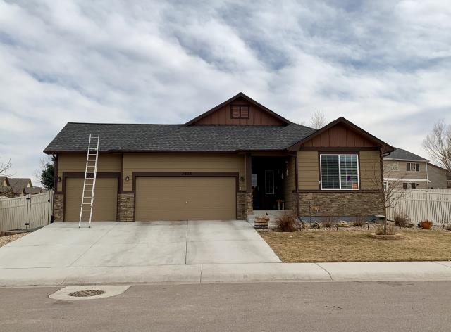 Firestone, CO - We re-roofed this home in Firestone using CertainTeed Landmark shingles in the color Driftwood.
