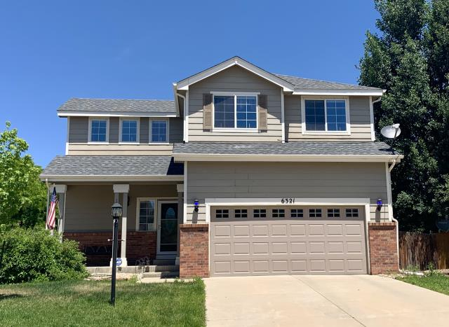 Firestone, CO - We re-roofed this home in Firestone using GAF Timberline HD shingles in the color Pewter Gray.