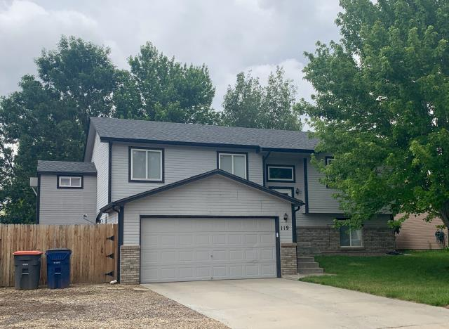 Frederick, CO - We re-roofed this home in Frederick that was hit with hail last summer.  The shingles we installed are GAF Timberline HD shingles in the color Pewter Gray.