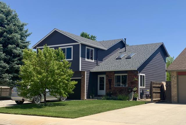 Fort Lupton, CO - We re-roofed this home in Mead due to hail damage last summer.  The shingles we installed on the roof are CertainTeed Northgate Class IV Impact Resistant shingles in the color Max Def Pewter.  The homeowner has decided to move so the home is on the market - Mead is a great place to live!
