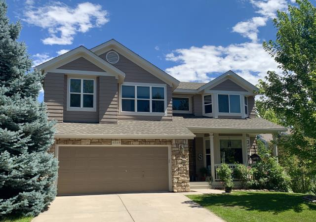 Boulder, CO - We installed a new roof on this home in Boulder not too long ago that was hit with hail recently.  The shingles that we installed are GAF Timberline HD shingles in the color Weathered Wood.