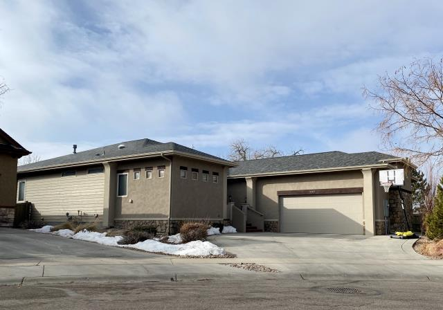 Fort Collins, CO - We installed a new roof on this home in Fort Collins that had quite a bit of hail damage.  The shingles we installed are CertainTeed Northgate Class IV Impact Resistant hail shingles.  The color is Georgetown Gray.