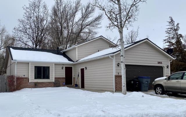Longmont, CO - This about sums up roofing the last few weeks - waiting for the snow to melt.  This home in Longmont though was ready and well protected from all the snow.  We installed a CertainTeed Northgate Class IV Impact Resistant shingle on this roof.  The color of the shingles are Pewter.