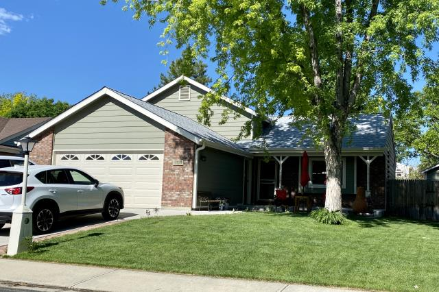 Longmont, CO - We recently installed a new roof on this home in Longmont.  The shingles that we installed are CertainTeed Northgate Class IV Impact Resistant shingles in the color Silver Birch.