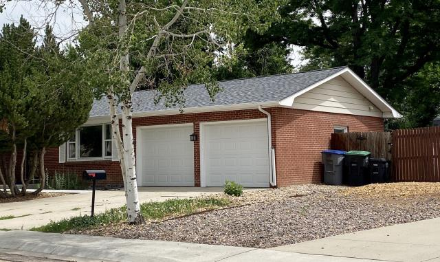 Longmont, CO - This homeowner in Longmont was hit with hail last summer and asked us to install a new roof.  The shingles that we installed are CertainTeed Northgate Class IV Impact Resistant Shingles.  They are ready for the next hail storm!  The color is Max Def Pewter.