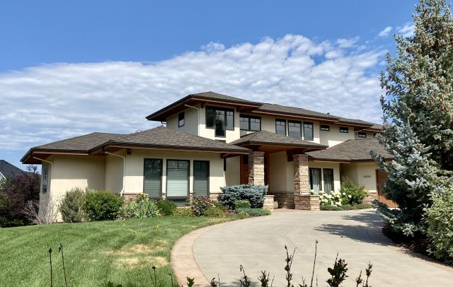 Fort Collins, CO - The shingles that we installed on this roof in Fort Collins are CertainTeed Belmont Class IV Impact Resistant Shingles.  Belmont shingles are a designer shingle.  They are thicker and have a different look and style than standard shingles.